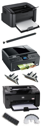 Printer and service